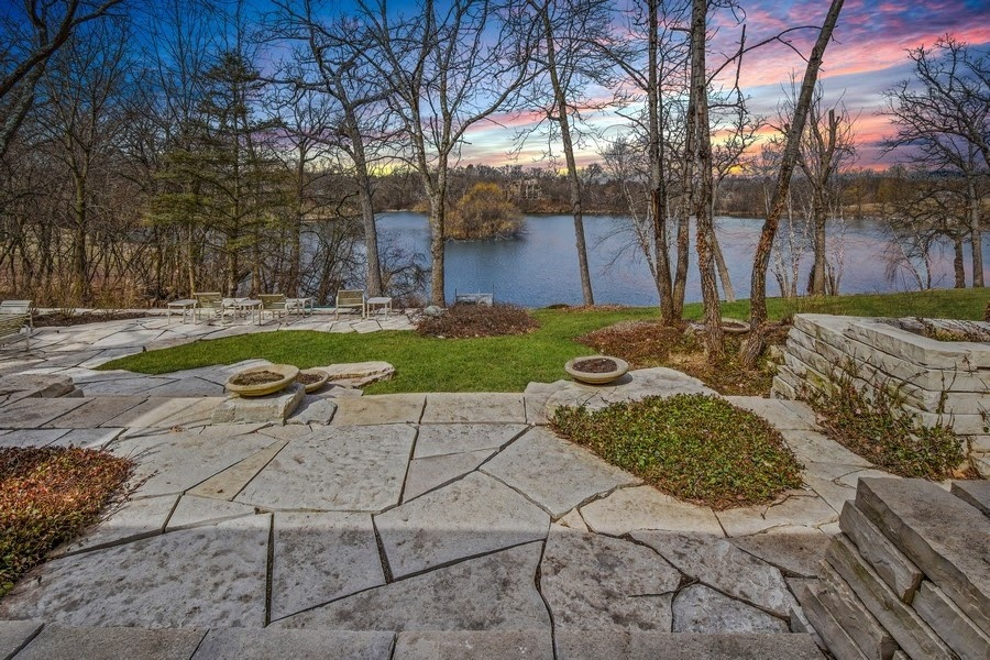 Lake view from Patio of 42 Brinker Road
