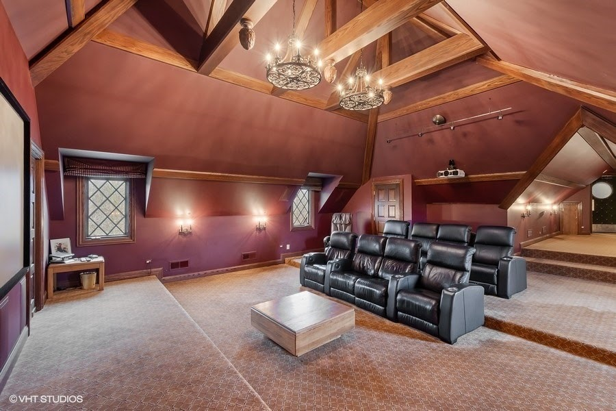 Home theater of 61 Brinker Road