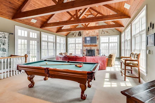 Great Room of 70 Round Barn Road